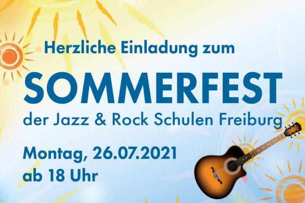 Sommerfest der Jazz & Rock Schulen Freiburg