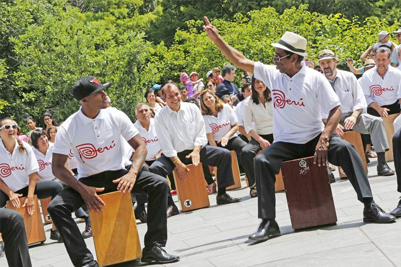 Festejo in Peru- Cajon Workshop Herbstferien 2021