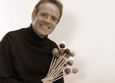 Hartmut Nold Schlagzeug und Vibraphon an den JRS