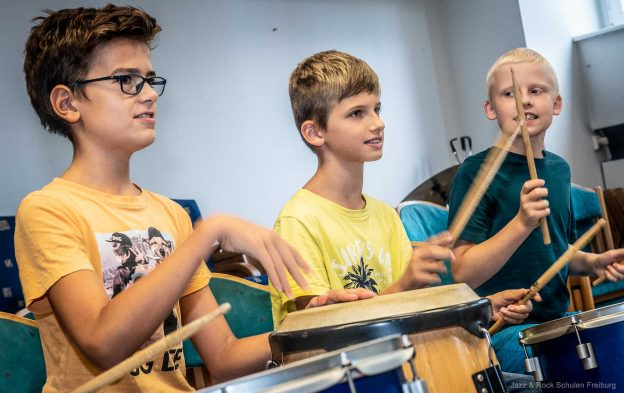 Rumble in the Jungele Percussion-Ensemble der JRS